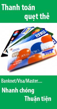 tphones thanh toán bằng thẻ