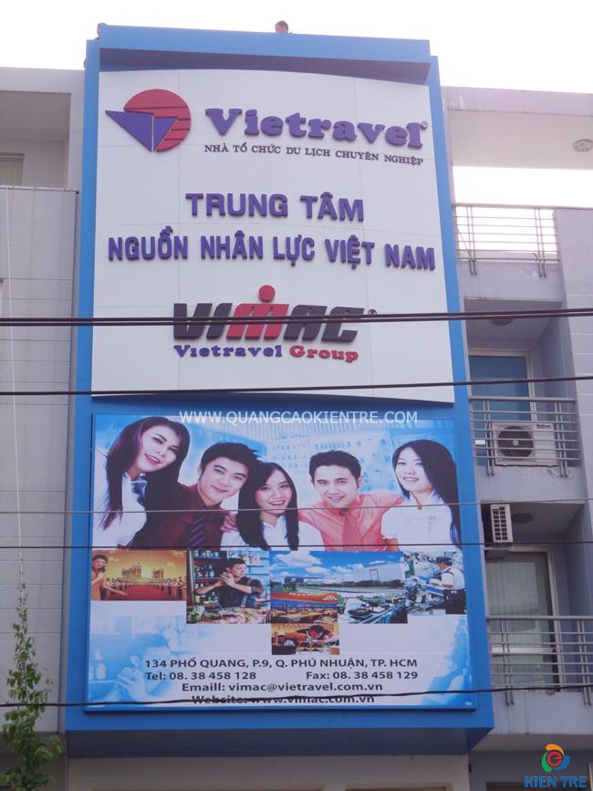 Công ty Sơn Long chuyên làm bảng hiệu du lịch - 090 88 77 912 Mr Thế