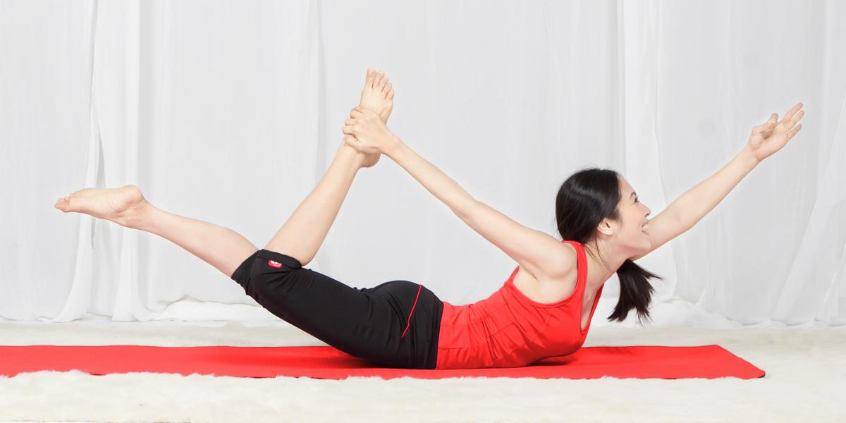 Mô tả tư thế tập yoga thứ 3 tại nhà.