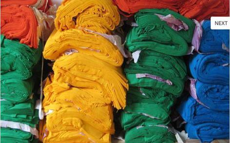 thu mua vải tồn kho của các công ty may mặc