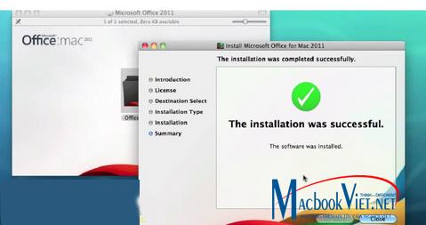 Hình ảnh giao diện Excel trên máy Macbook