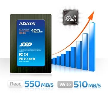 SSD Adata S510 120G hỗ trợ lệnh TRIM của Windows