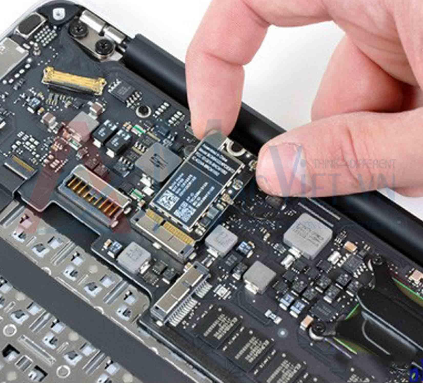 Macbook không nhận USB
