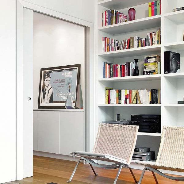 tách biệt phòng đọc sách với các không gian khác