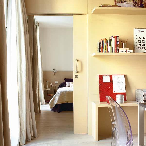 Phân chia phòng ngủ với không gian khác...