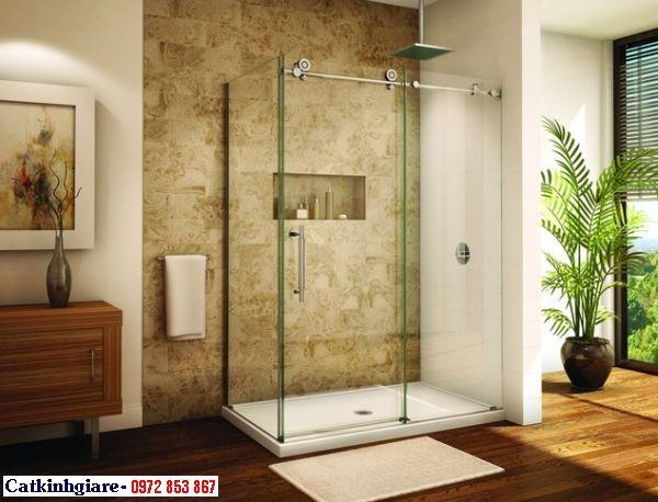 Mẫu phòng tắm kính đẹp 01