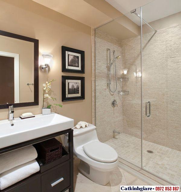 Mẫu phòng tắm kính đẹp 04