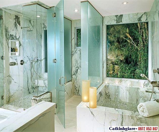 Mẫu phòng tắm kính đẹp 07