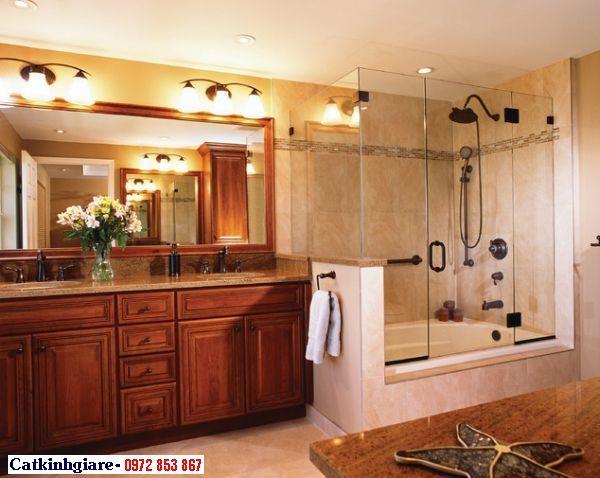 Mẫu phòng tắm kính đẹp 06