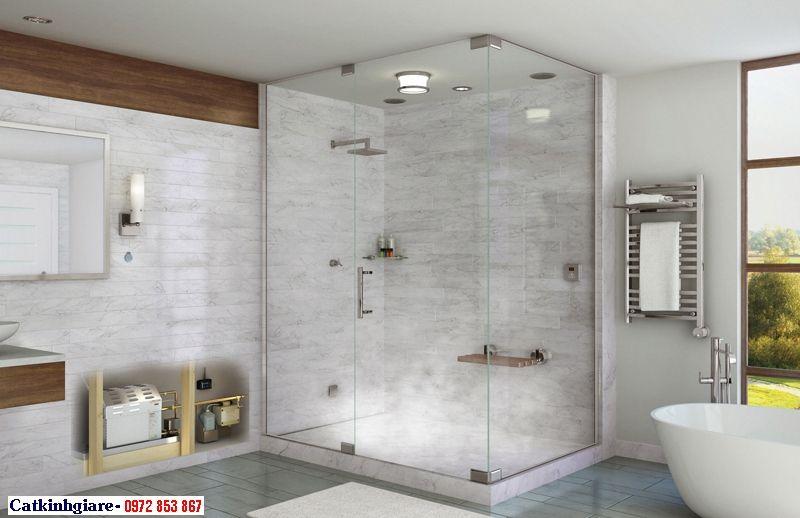 Mẫu phòng tắm kính đẹp 10