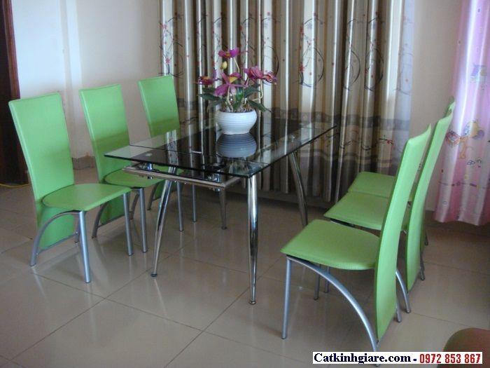 Kính mặt bàn phòng khách đẹp MB02