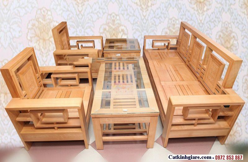 Kính mặt bàn phòng khách đẹp MB03-2
