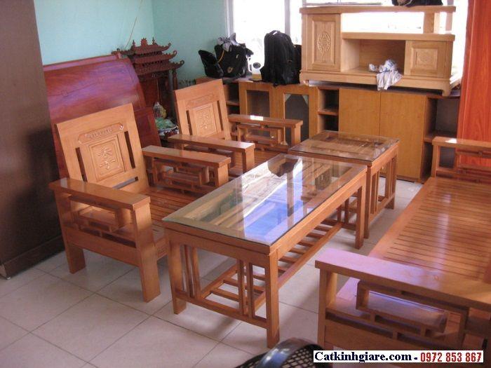 Kính mặt bàn phòng khách đẹp MB03