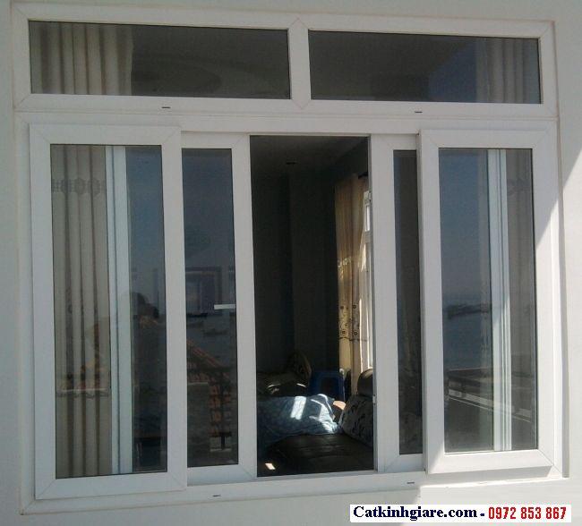 Cửa sổ lùa kính cường lực