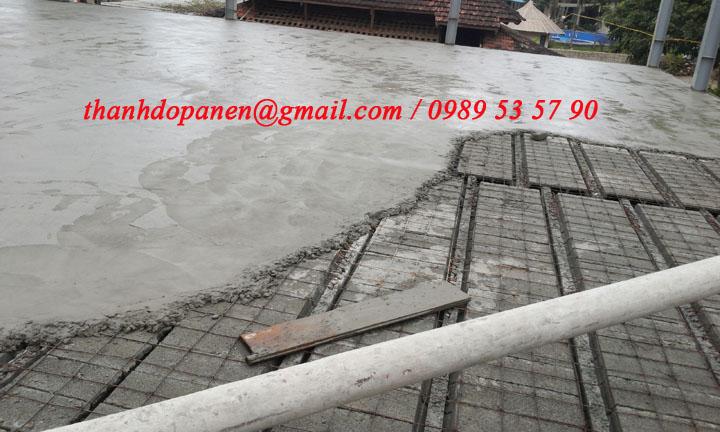 Sàn panel nhẹ có nhiều ưu điểm so với sàn bê tông truyền thống