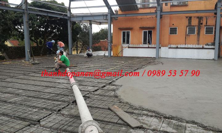 Công trình sàn bê tông nhẹ tại Tàn Đà Resort