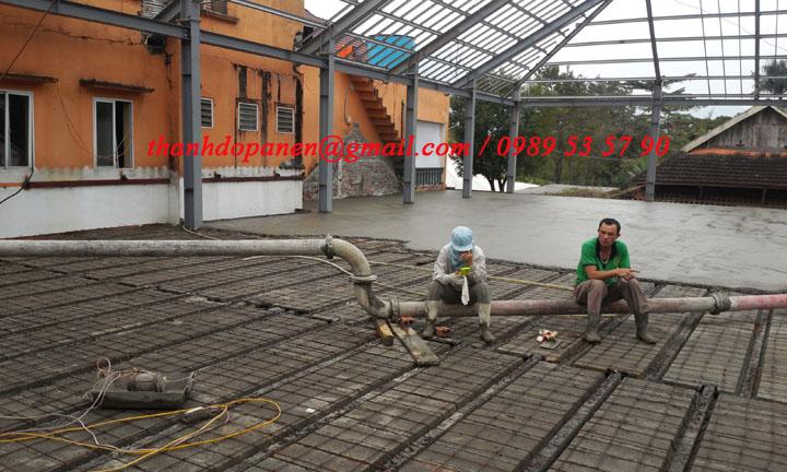 Sàn pnel nhẹ được ưa chuộng trong cả xây dựng dân dụng và công nghiệp