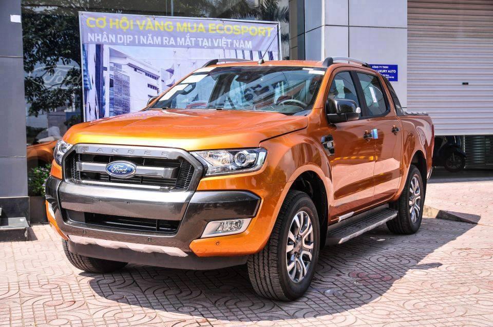 Ford An Đô bán xe Ford Ranger Wildtrak 3.2 màu cam, L/h: 0963483132