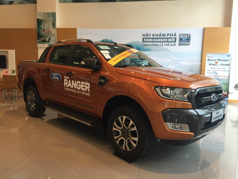 Ford Ranger Wildtrak 3.2 - Màu cam