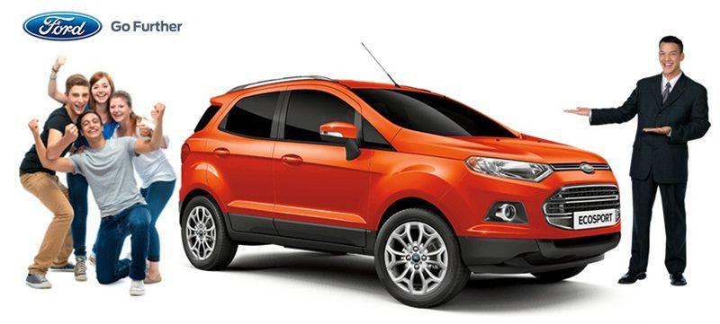 Xe Ford Ecosport tại Đại lý Ford An Đô chính hãng