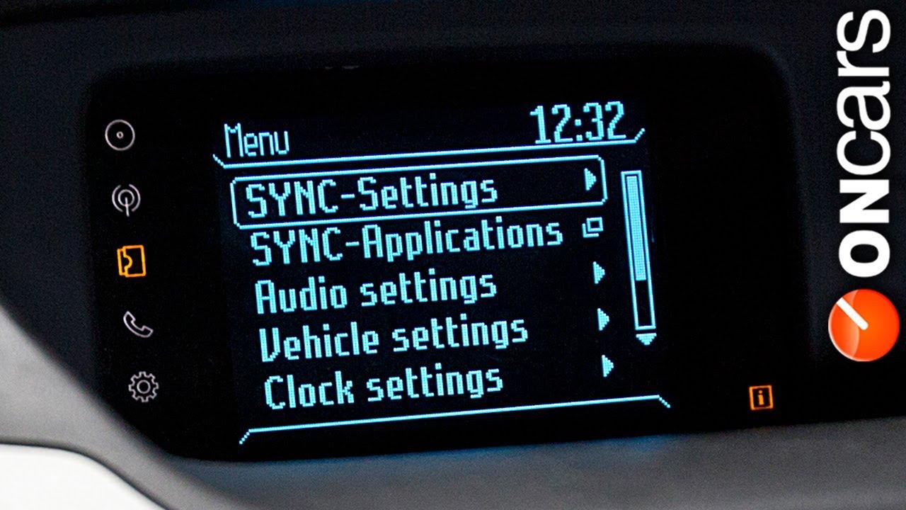 Hệ thống SYNC thông minh tại Đại lý Ford An Đô