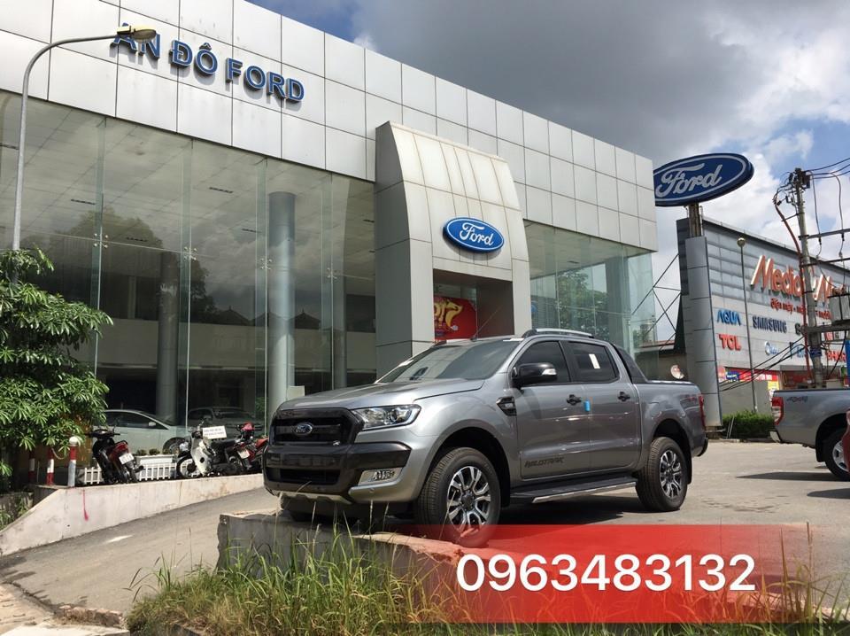 Ford Ranger vua bán tải tại Việt Nam
