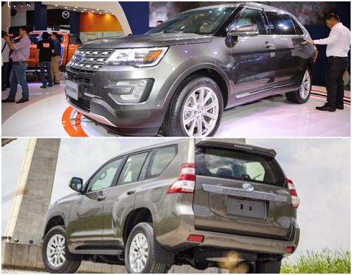 Explorer hướng tới vẻ hiện đại, Land Cruiser Prado đề cao đặc trưng của dòng SUV
