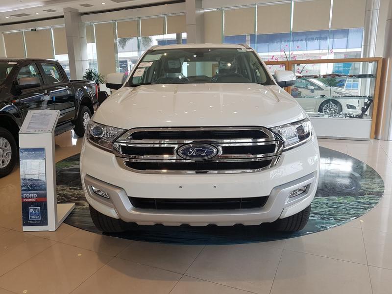 Ford Everest nhập khẩu hoàn toàn mới : Mẫu SUV đa năng nhất của Ford