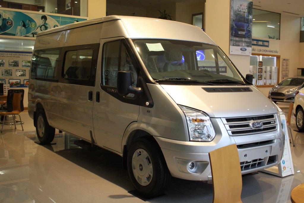 Ford Transit giải pháp vận chuyển hành khách hàng đầu
