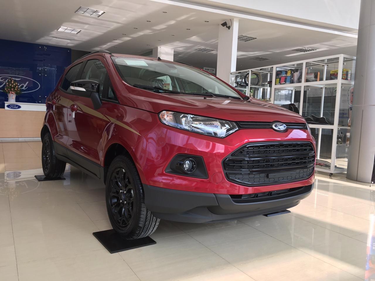 Ford Ecosport Black Editon Màu Đỏ - Giao ngay tại An Đô Ford