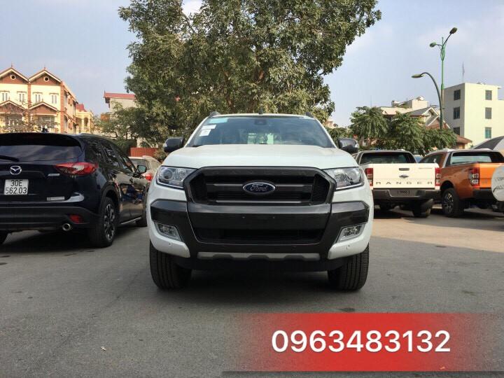 An Đô Ford | An Do Ford | Ford An Do | Ford An Đô | Ford Ranger Wiltrak 3.2 màu trắng đầu xe