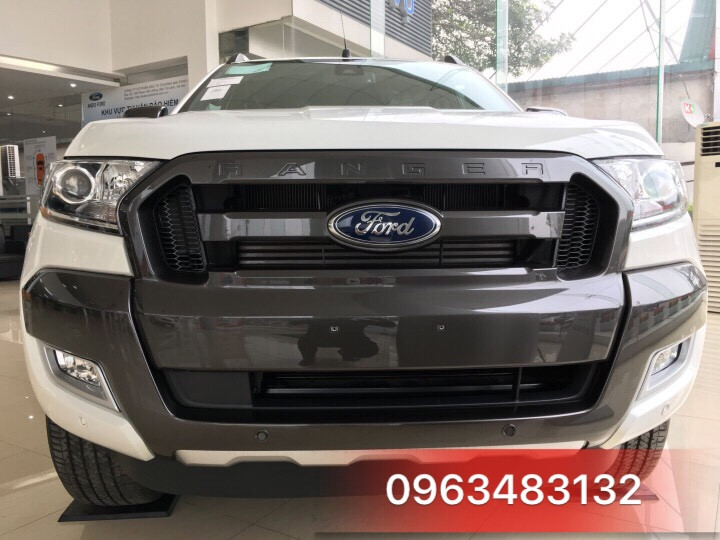 An Đô Ford | An Do Ford | Ford An Đô | Ford An Do | Ford Ranger Wiltrak 3.2 màu trắng