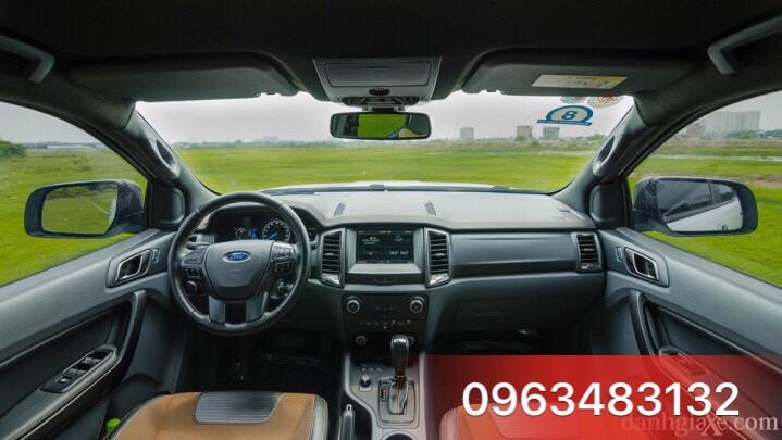 An Đô Ford | Ford An Do | Ford An Đô | An Do Ford | Nội thất của xe Ford Ranger Wiltrak 3.2 màu trắng
