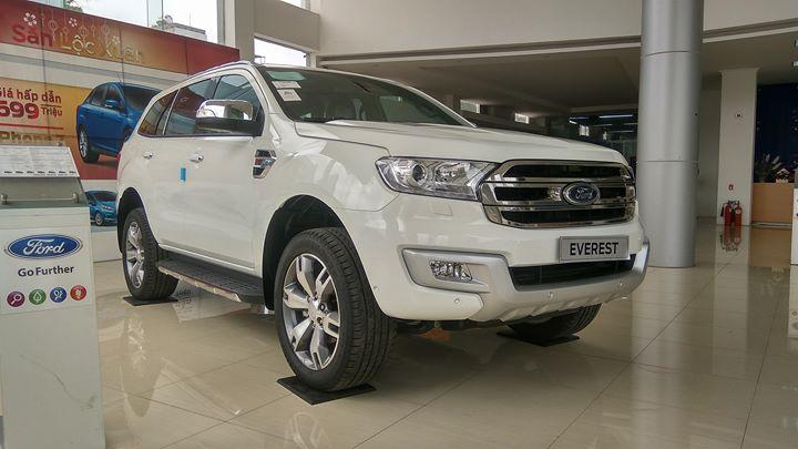Ford Everest Trend là phiên bản thường nhưng bán tốt của Ford