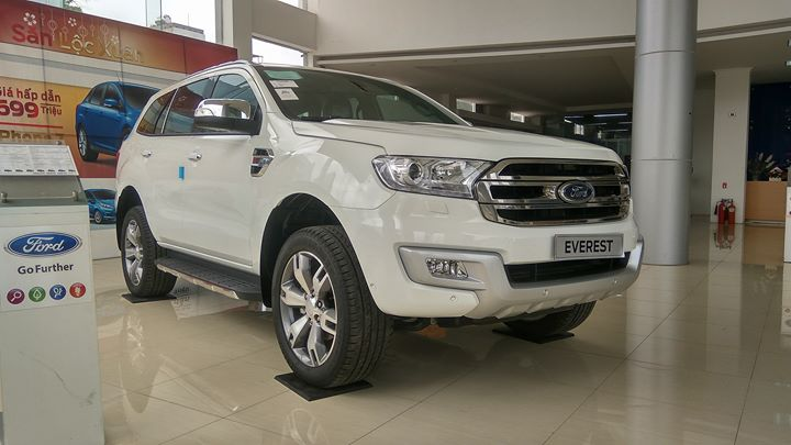 Ford Everest Titanium