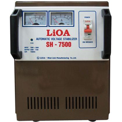 ổn áp lioa sh - 7,500