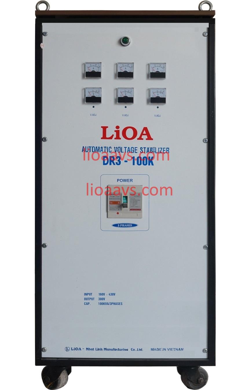 on ap lioa dr3-100k 3 pha , lioa 100kva 3 pha