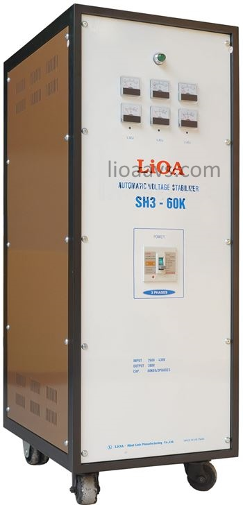 ỔN ÁP LIOA SH3-60K , LIOA 60KVA 3 PHA