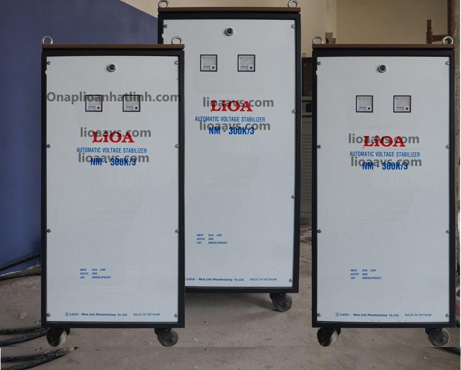 ổn áp lioa NM-300K 3 PHA , LIOA 300KVA 3 PHA