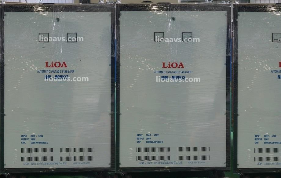 ổn áp lioa 3 pha khô NM-600K , LIOA 600KVA 3 PHA