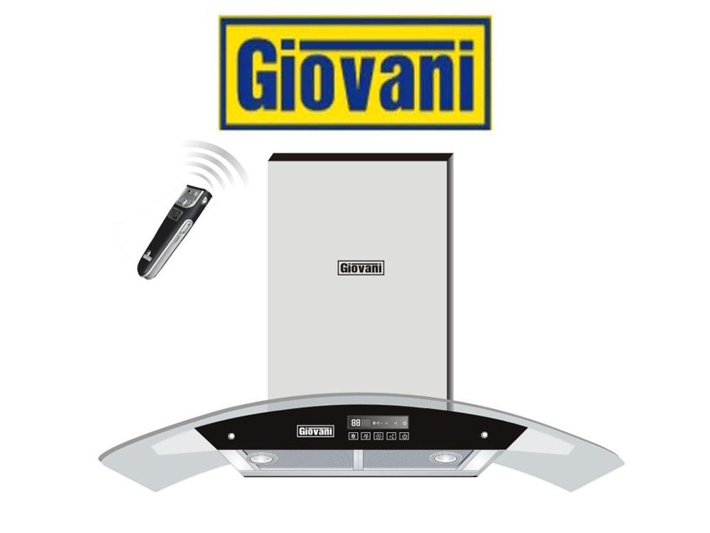 Máy hút mùi Giovani G2370RS nhập khẩu chính hãng châu Âu, hiện đại