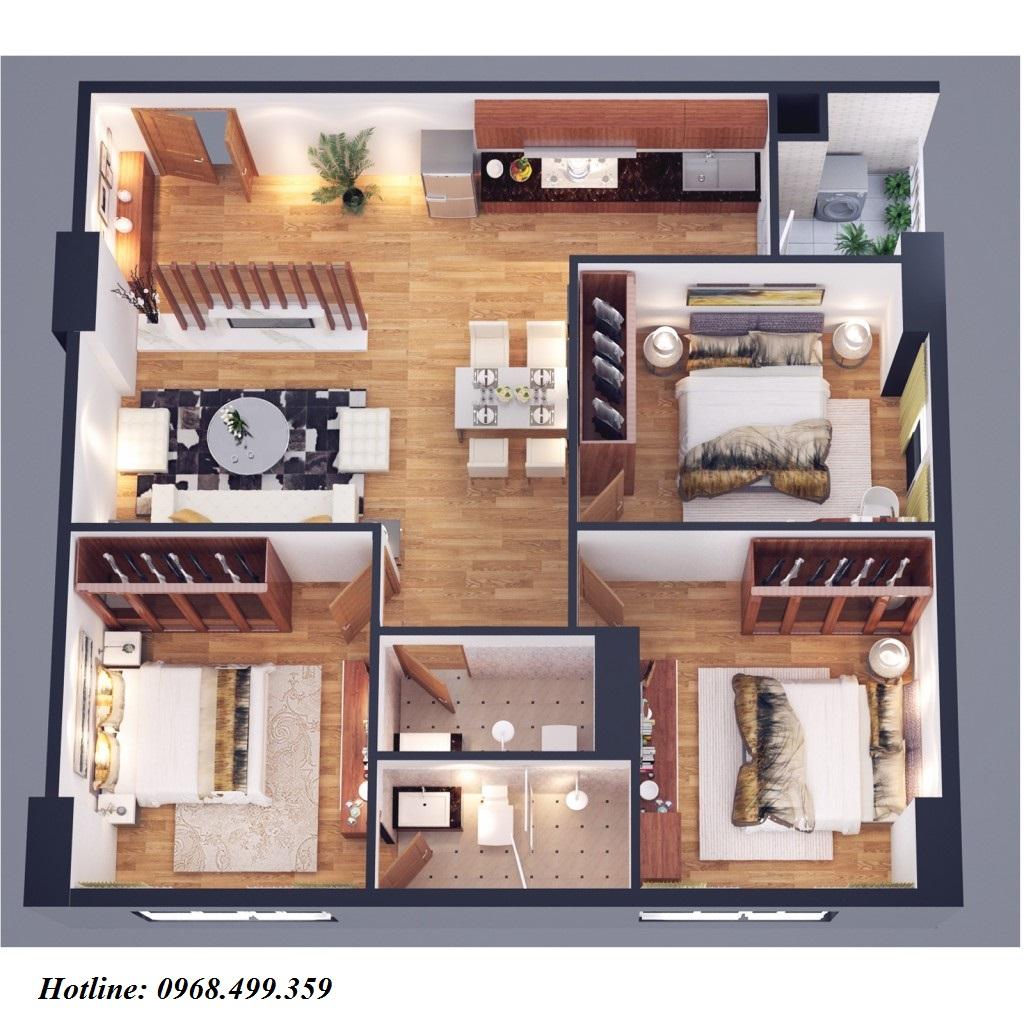 căn hộ loại a chung cư athena complex