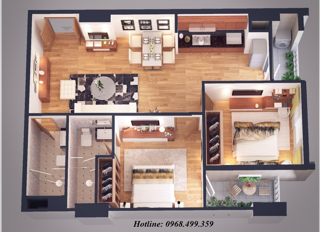 căn hộ loại c chung cư athena complex