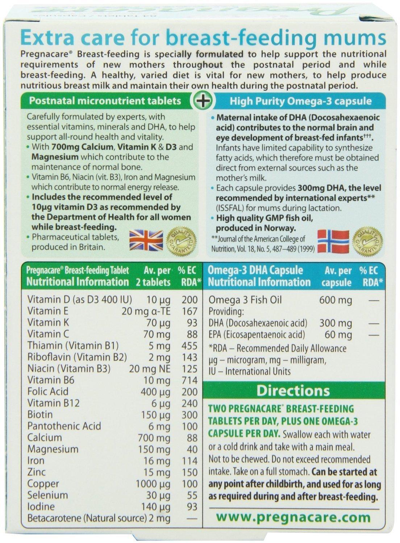 Vitamin tổng hợp cho bà mẹ cho con bú Pregnacare Breast Feeding