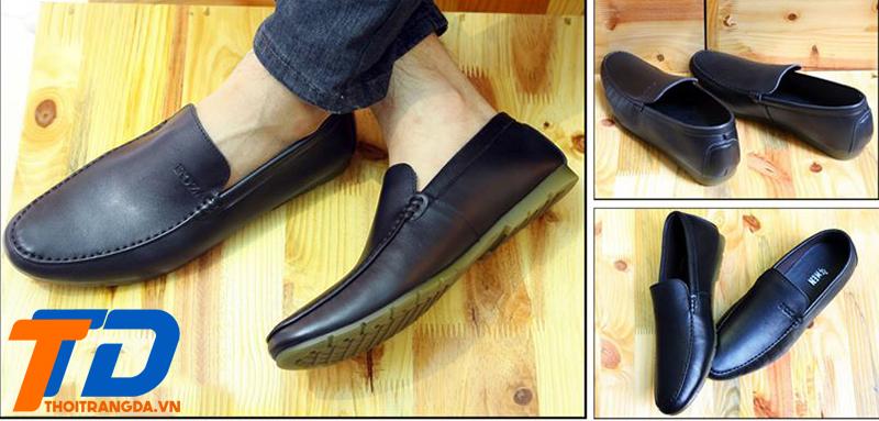 Ưu điểm khi chọn giày lười da nam