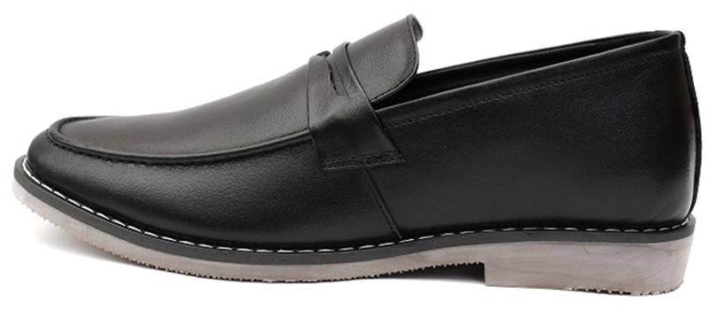 Giày lười da nam-4