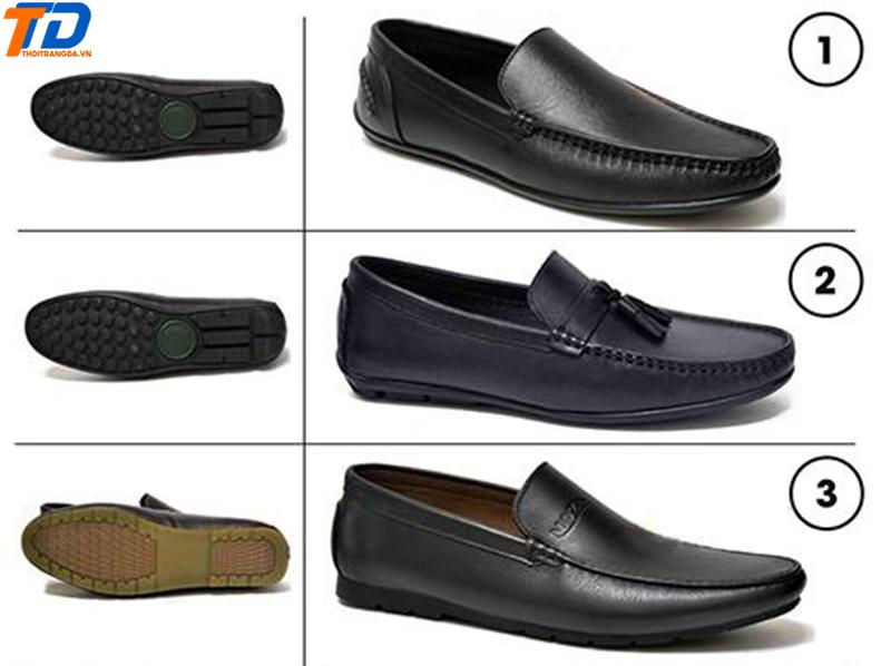 Giày lười da nam 7