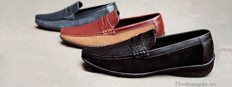Các mẫu giày lười nam hút hồn các chàng trai