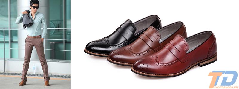 Cách phối đồ với giày lười nam - 2