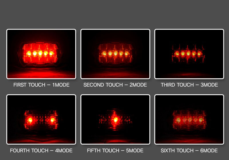 Đèn Hậu Xe Đạp 5 Led MS01